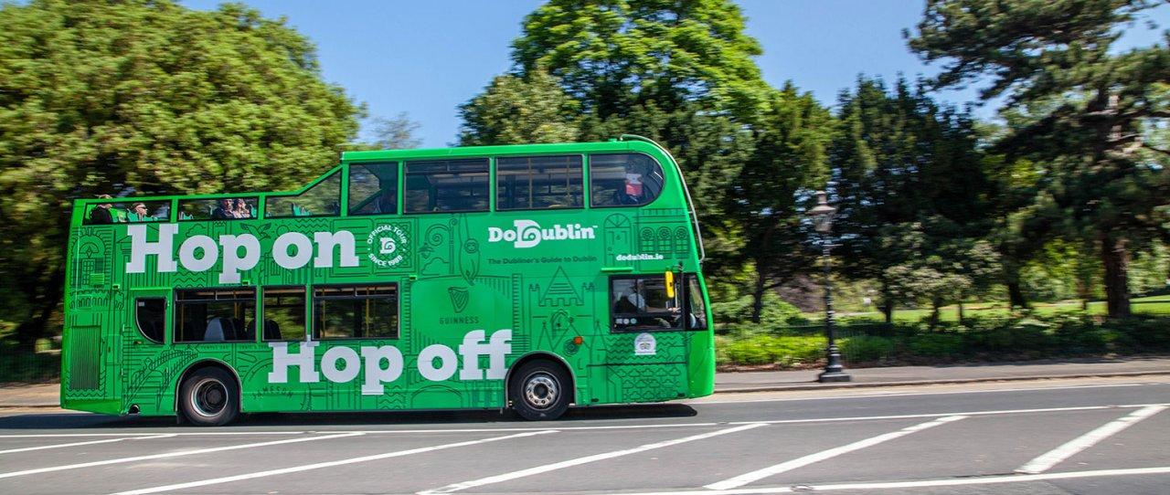 DoDublin Bus In Phoenix Park