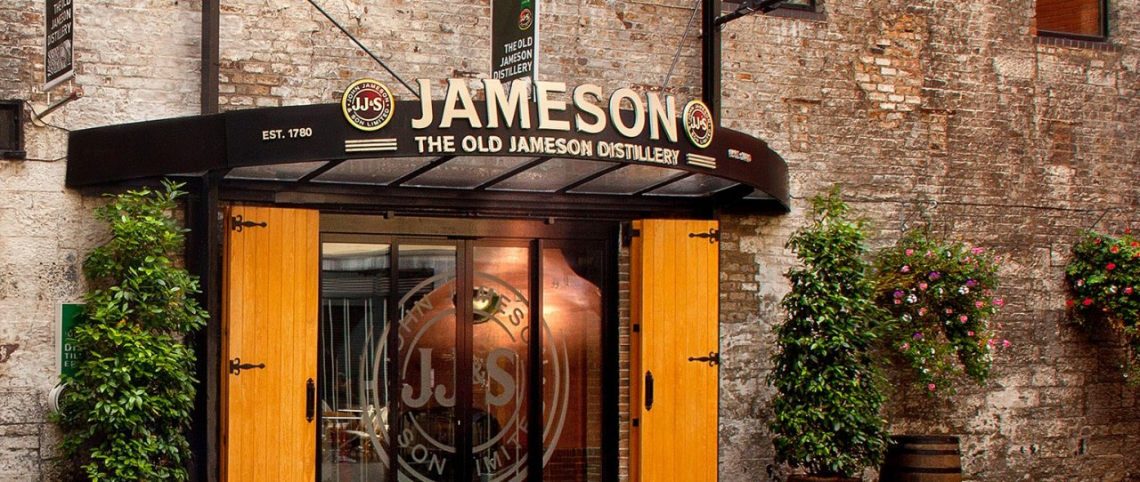 entrance to jameson distillery bow lane