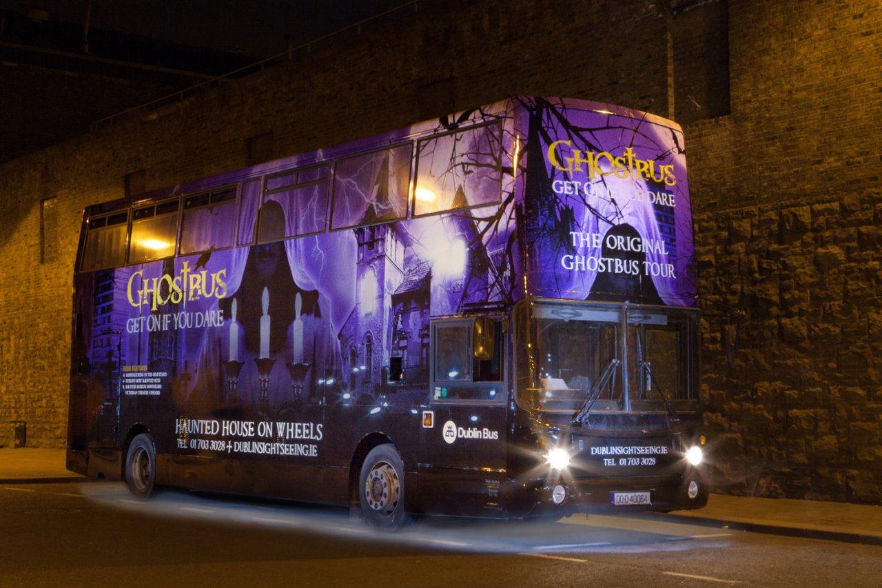 Ghost Bus Tour Dublin Ireland