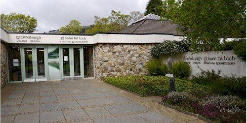 Glendalough Visitor Centre Front Entrance