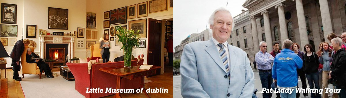 little museum of Dublin and pat liddy walking tour