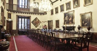 Dining Room in Malahide Castle Tour