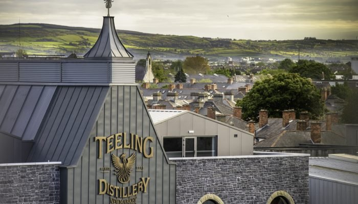 Teeling Distillery from outside